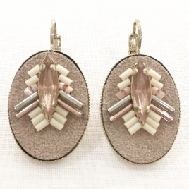 Boucles d'oreille Emma Satellite
