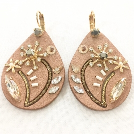 Boucles d'oreille Rita Satellite