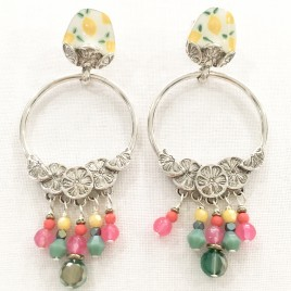 Boucles d'oreille Lemon Taratata