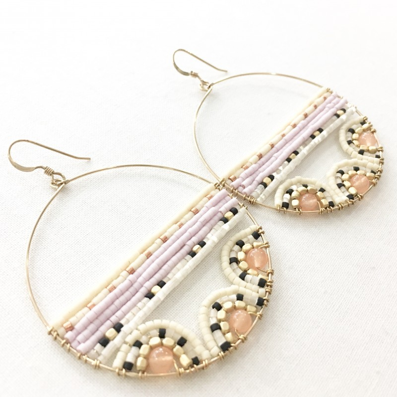 Boucles d'oreille Kui Co