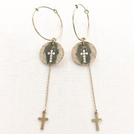 Boucles d'oreille Apparition Bee.Valentina