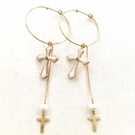 Boucles d'oreilles Angelica Bee.Valentina