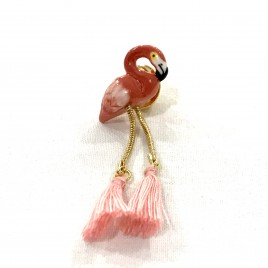 Pin's Flamant Rose Nach
